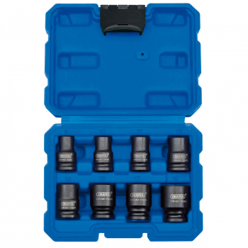 DRAPER 83089 3/8inch METRIC IMPACT SOCKET SET (8 PIECE)