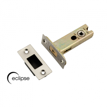 Tubular Bathroom Deadbolt Eclipse 102mm Duo Finish 70285