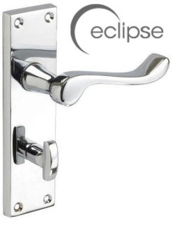 Eclipse Victorian Scroll Bathr oom Handle J34102 Polished Chr