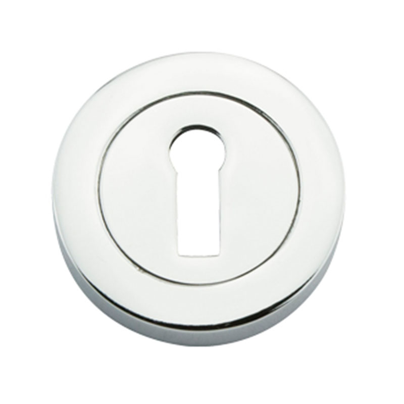 Std Key Escutcheon (2pk) Eclipse 31161 Polished Chrome