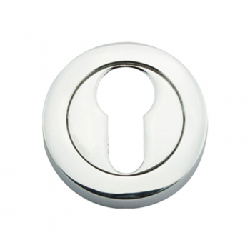 Euro Profile Escutcheon (2pk) Eclipse 31163 Polished Chrome