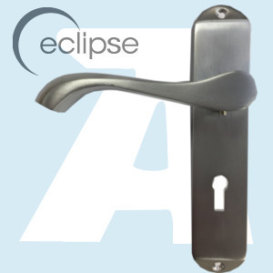 Eclipse Cadenza Lever Lock Handle JC37697 Satin Chrome