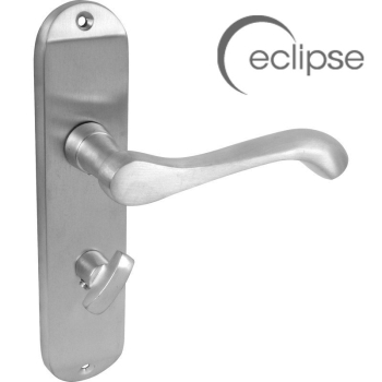 Eclipse Cadenza Lever Bathroom Handle JC37699 Satin Chrome