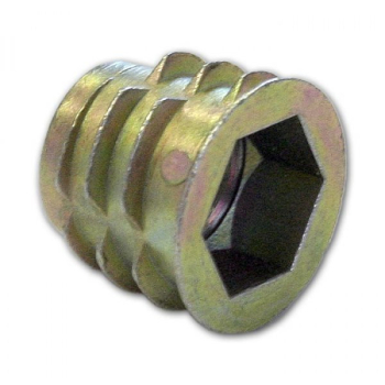 DYNAFIX SCREW IN INSERT ZINC HEADED M10 X 13 (IND012)