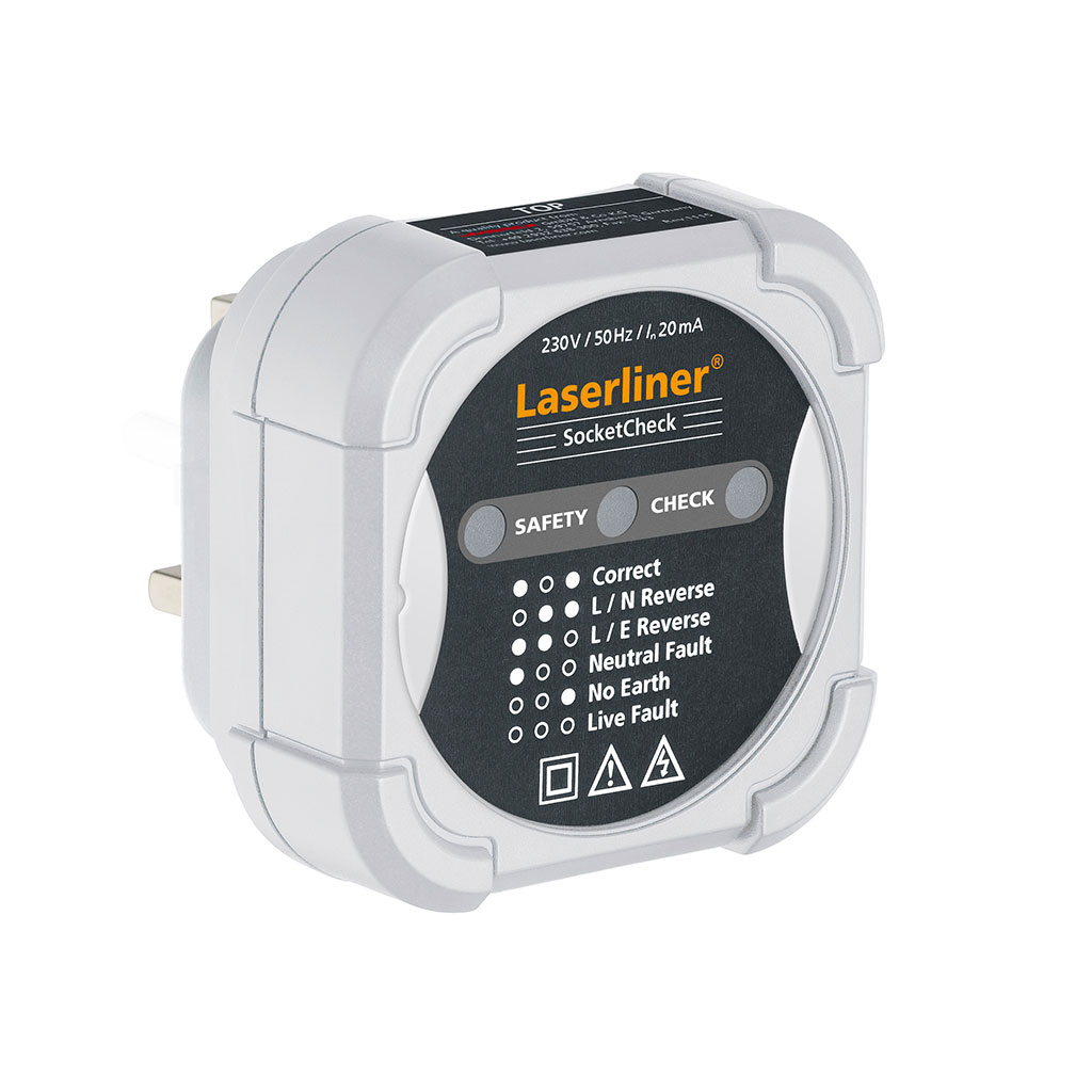 Laserliner Socket Check 083.026A/GB Electrical Meter