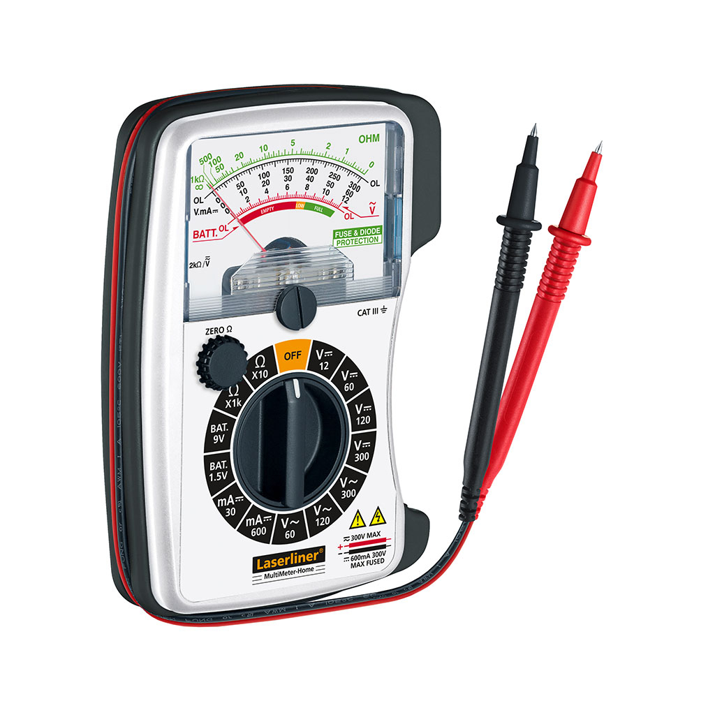 Laserliner Multi Meter Home 083.030A Analog Multimeter