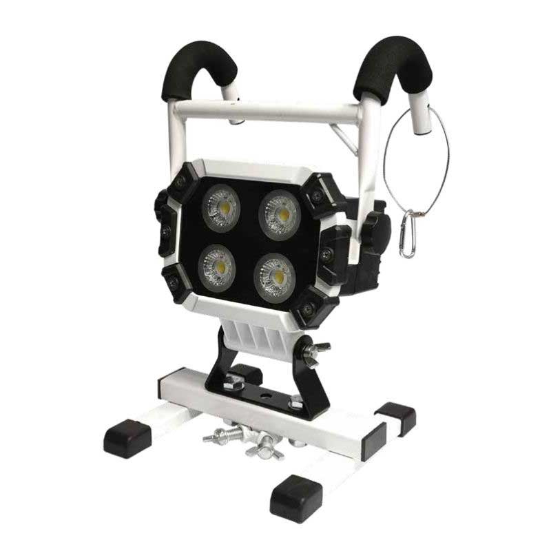 TRADE-TUFF T4000HA 110V HYBRID WORK LIGHT WITH PT ADAPTOR