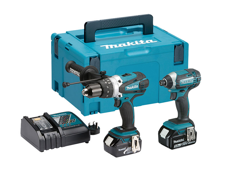 MAKITA 18V DHP458/DTD152 TWIN PACK 2X5.0AH BATTS