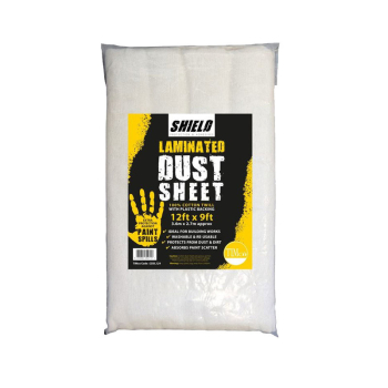 TIMco Shield Cotton Dust Sheet Laminated CDSL129 12ft x 9ft