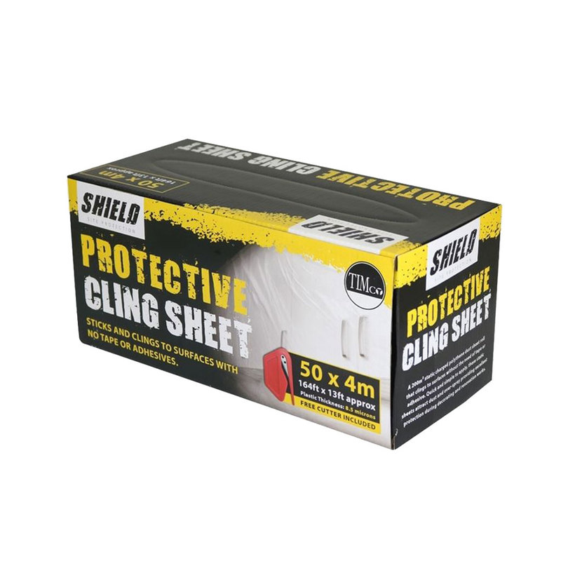 TIMco Shield Protective Cling Sheet PCS504 50m x 4m