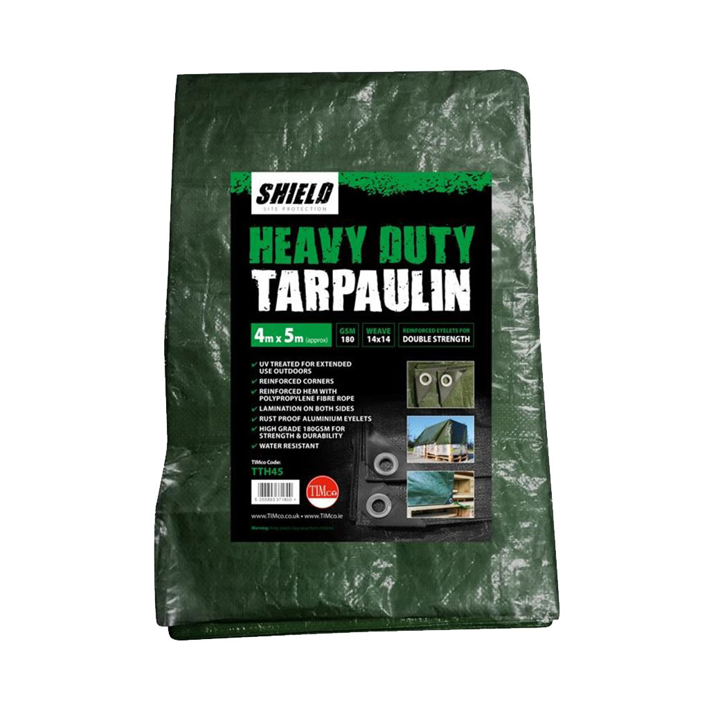 TIMco Shield Tarpaulin Heavy Duty 4mt x 5mt TTH45