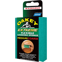 SANDING BLOCK MEDIUM/Metric OAKEY EXTREME 636425 58595