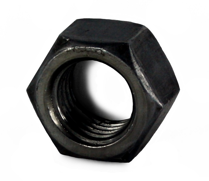 NUT FULL STL S/COL 1/4 UNC