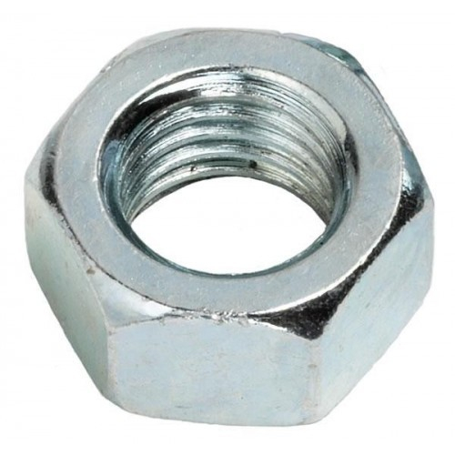 NUT FULL STEEL ZINC 1/4 BSF