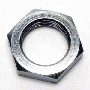 NUT LOCK STEEL ZINC 1/4 BSF