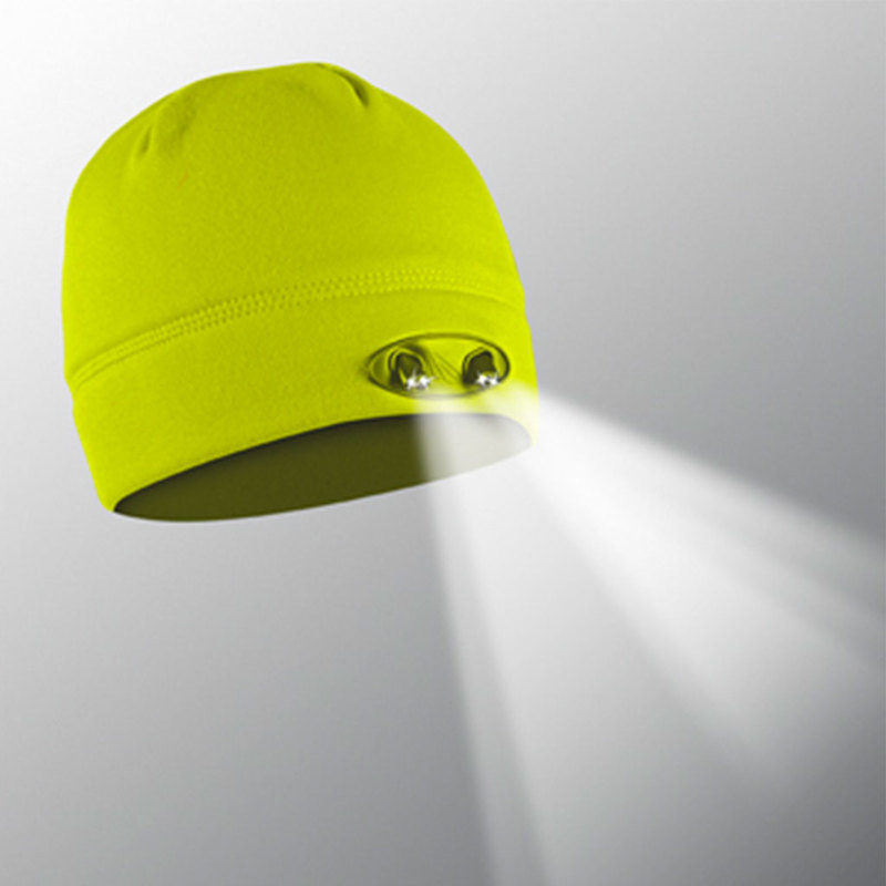 Powerbeanie 4LED Hi-Vis Panther Vision