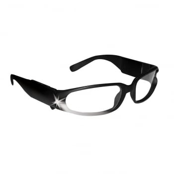 LED Safety Glasses Black Panther Vision