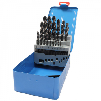 M25 HSS DIN338 HiNox DRILL SET 1.0mm - 13.0mm x 0.5mm PRESTO