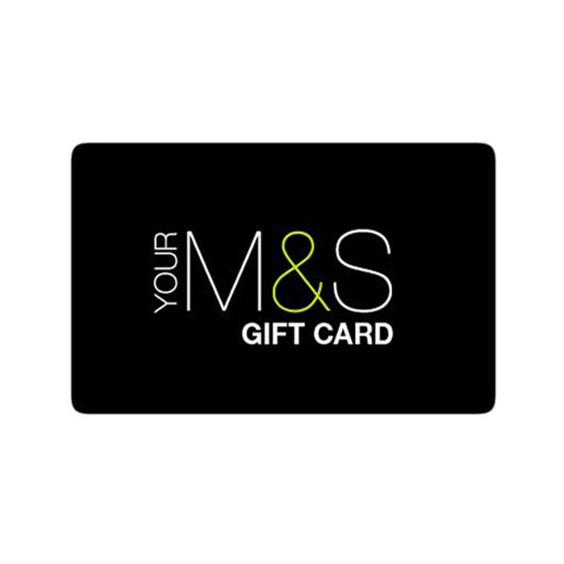 MARKS AND SPENCER GIFT CARD �50