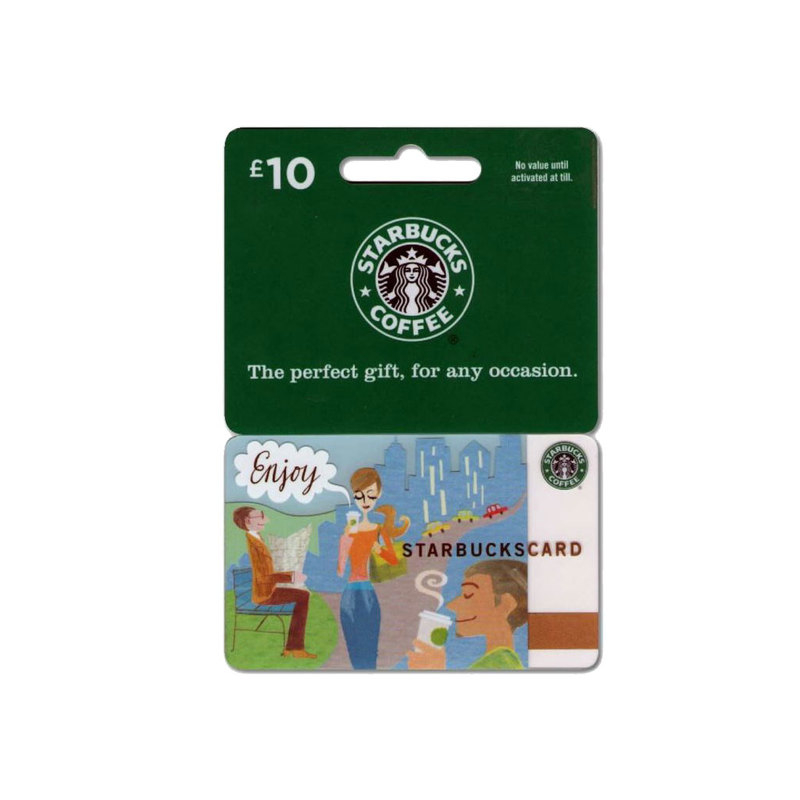 Starbucks Coffee gift card �10