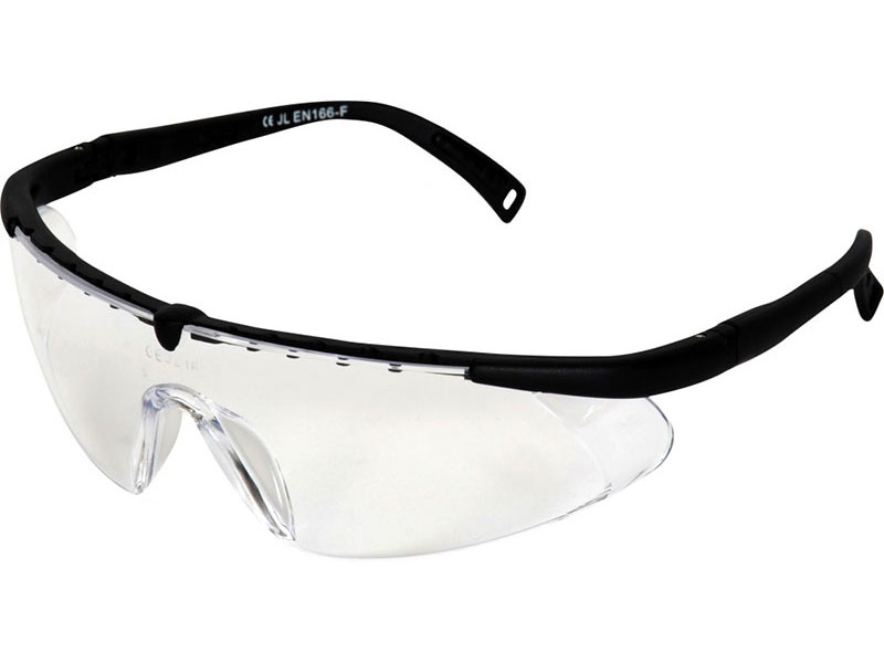 TASMAN CLEAR SAFETY GLASSES ADJUSTABLE P/N TASMAN 1-604
