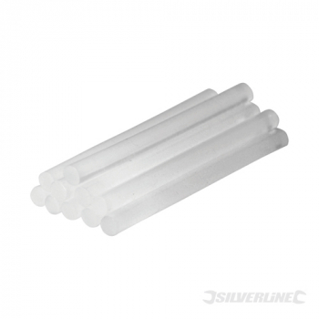 Glue Sticks 7.2 x 100mm Silverline 10pk
