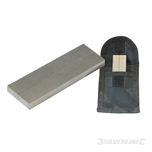 Diamond Sharpen Pocket Stone Silverline 320 Grit