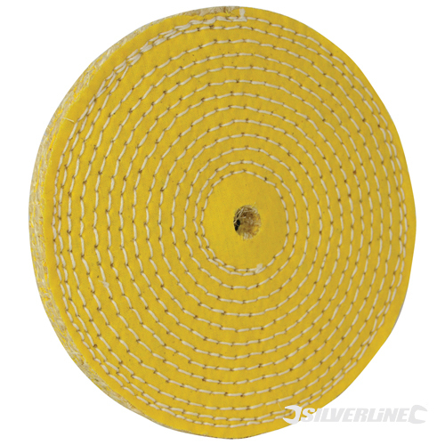 Sisal Buffing Wheel Silverline 150mm