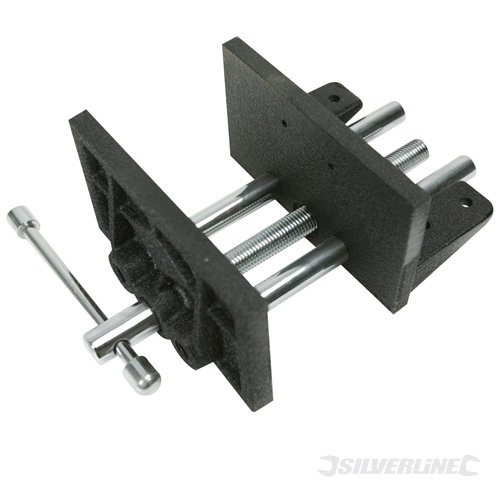 Woodworkers Vice 3.5kg Silverline 150mm
