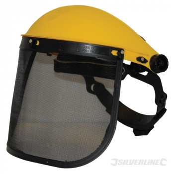 Mesh Safety Visor Silverline Mesh