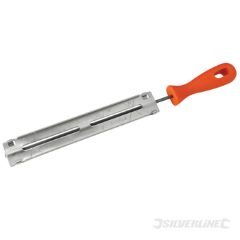 Chainsaw File Silverline 4.0mm / 5/32inch