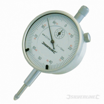 Metric Dial Indicator Silverline 0 - 10mm
