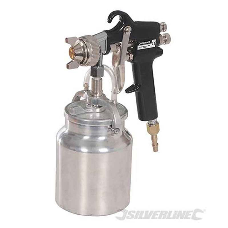 Spray Gun Suction Feed Silverline 750ml