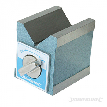 Magnetic V-Block Silverline 70 x 60 x 70mm