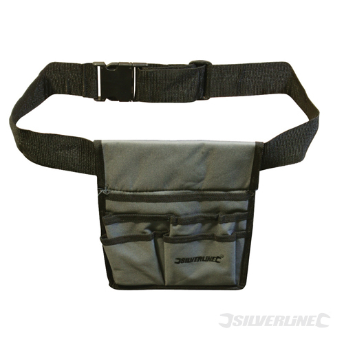 Tool Pouch Belt 5 Pocket Silverline 220 x 260mm