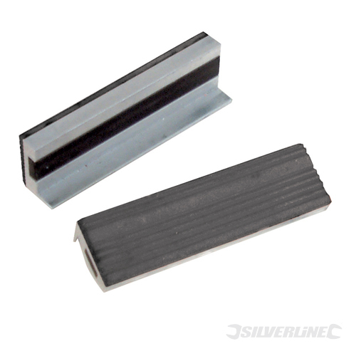 Soft Vice Jaws Silverline 100mm