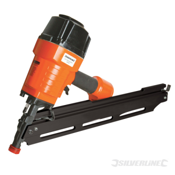 Air Framing Nailer 90mm Silverline 10 - 12 Gauge