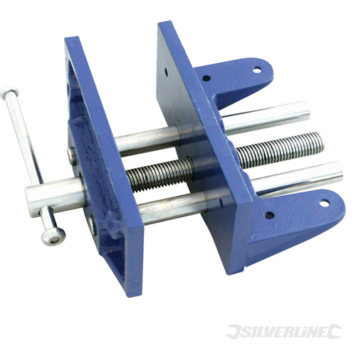 Woodworkers Vice 9.5kg Silverline 180mm