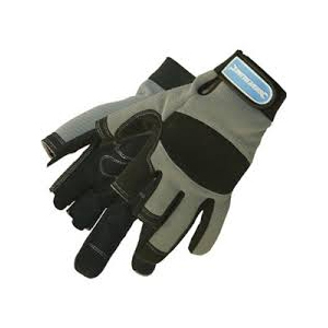 Part Fingerless Mechanics Glov Silverline Large