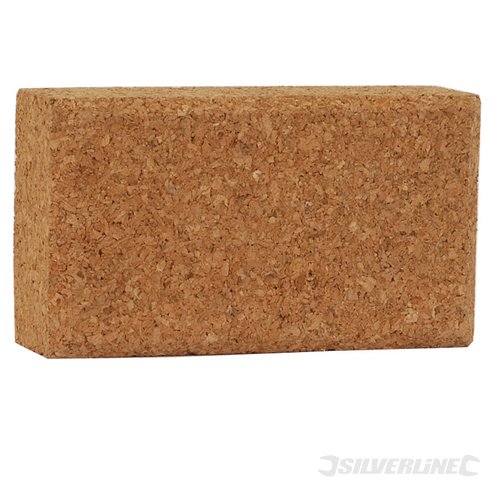 Cork Sanding Block Silverline 110 x 60 x 30mm
