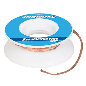Desoldering Wire Silverline 1mm