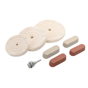 Polishing & Buffing Kit 8pce Silverline 100, 125 & 150mm