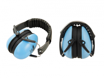 Junior Ear Defenders Silverline Blue