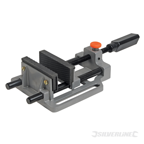 Quick Release Drill Vice Silverline 100mm