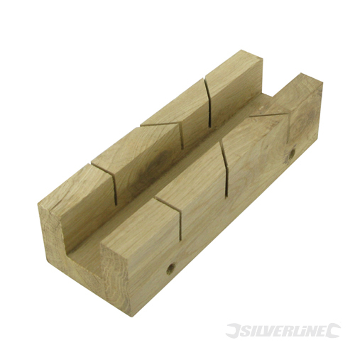 Mitre Box Silverline 190 x 55mm