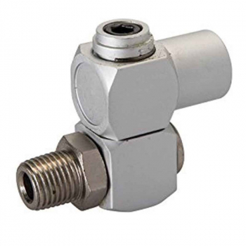Air Line Swivel Connector Silverline 1/4inch BSP