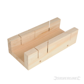 Mitre Box Silverline 250 x 85mm