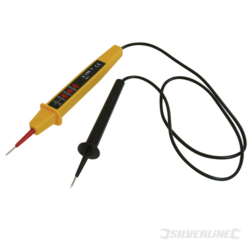 3-in-1 Voltage Tester Silverline 900mm