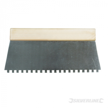 Adhesive Comb Silverline 250mm - 6mm Teeth