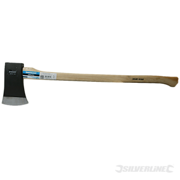 Hickory Felling Axe Silverline 6lb (2.72kg)